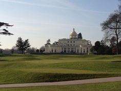 Beautiful winter's day playing a round of golf, photo taken by John Chatwin. Thanks!