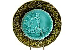 Majolica Elves Plate on OneKingsLane.com