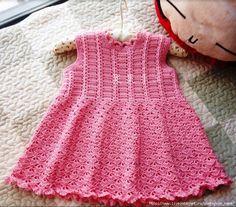 pattern for crocheted girl dress