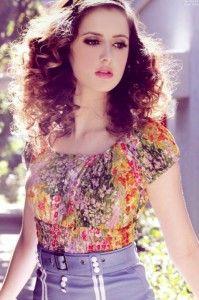 Laura Marano So Glam In Thrifty Hunter Magazine