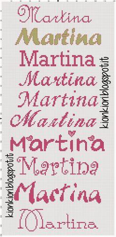 Agata, Hélène Marie, Martina e Mariano Macrame Bracelet Diy, Alphabet, My Bookmarks, Simple Cross Stitch, Christmas Projects, Hama Beads, Pattern Art, Diy For Kids, Cross Stitch Patterns