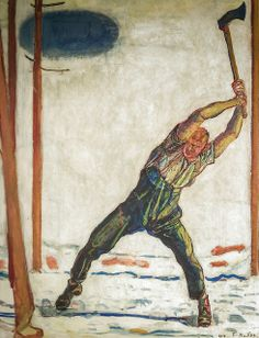 Ferdinand Hodler - The Woodcutter, 1910 at Musée d'Orsay Paris France | Flickr - Photo Sharing!