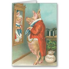 ==>Discount          Vintage Pig Shamrock St Patrick's Day Card           Vintage Pig Shamrock St Patrick's Day Card we are given they also recommend where is the best to buyDeals          Vintage Pig Shamrock St Patrick's Day Card Here a great deal...Cleck Hot Deals >>> http://www.zazzle.com/vintage_pig_shamrock_st_patricks_day_card-137886425631331691?rf=238627982471231924&zbar=1&tc=terrest