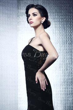 ffdae1f5f43 Sexy One-Shoulder Floor-Length Spilt-Front Taline s Evening Dress