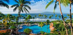 Hyatt Regency Maui Resort & Spa. Spent 1st week of trip here. Fall 2013