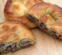 Mince Recipes, Pastry Recipes, Bread Recipes, Cooking Recipes, Croatian Recipes, Turkish Recipes, Ethnic Recipes, Mince Pies, Burek Recipe