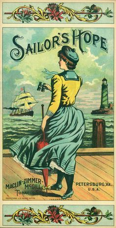 Order prints from the Vintage Tobacco Labels Collection at the Library of Virginia: a unique reflection of the artistry showcased in nineteenth century advertisements. Posters Vintage, Vintage Labels, Vintage Ephemera, Vintage Cards, Vintage Postcards, Vintage Images, Vintage Graphic, Vintage Typography, Vintage Paper