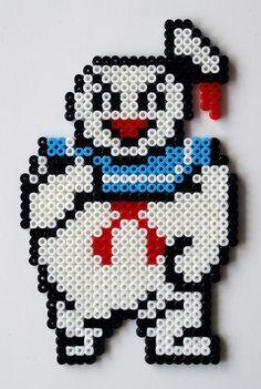 Ghostbusters perler beads