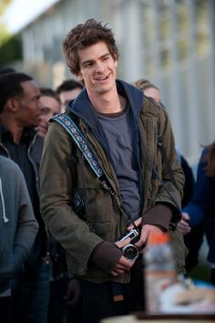 Andrew Garfield as Peter Parker = Instantly Swooning.