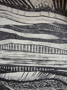 Lithograph - Layers (detail) | Marlene Roa