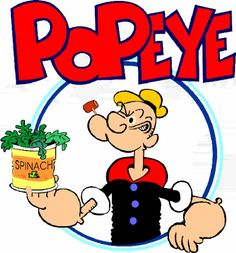 Are you going to eat your fresh spinach,later today?  Our #cartoonThrowback is now until 1pm,Catchup and Join.  #R/T. ✿ Popeye Cartoons ✿