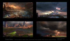 ArtStation - Worldbuilding Thumbnails, Finnian Macmanus