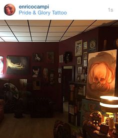 "My love,My second House...""the Pride&Glory Tattoo """