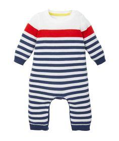 Mothercare Pelele Raya Marinera - Esenciales Bebe Primavera Verano 2015 - Moda infantil - Mothercare