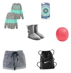 """Untitled #15"" by lovern27 ❤ liked on Polyvore featuring UGG Australia, NIKE and Eos"