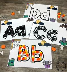 Looking for fun Preschool Halloween Activities? This set of fun Hands-on Centers and Printables are the perfect addition to your Preschool Halloween Theme. Halloween Theme Preschool, Halloween Letters, Halloween Worksheets, Halloween School Treats, Halloween Activities For Kids, Fall Preschool, Halloween Party Supplies, Preschool Ideas, Patterning Kindergarten