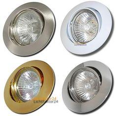 LED Einbaustrahler Timo 230Volt Downlights HV Einbauleuchten 5W Strahler Sets