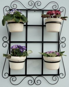 Metal Plant Hanger Flower Stands, Plant Decor, Decor, Plant Stand, Creative Gardening, Wrought Iron Furniture, Plant Holders, Iron Decor, Wrought Iron Design