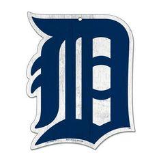 "DETROIT TIGERS LOGO ""D"" WOOD SIGN 11""x14"" BRAND NEW FREE SHIPPING WINCRAFT #Wincraft #DetroitTigers"