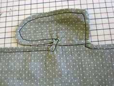 Sewing a Pocket into a French Seam.