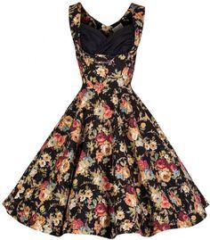 Lindy Bop Ophelia 1950s Vintage Picnic Dress | Clarence and Alabama