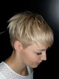 Short Short may refer to: Edgy Short Haircuts, Short Hair Undercut, Undercut Hairstyles, Short Hairstyles For Women, Cool Hairstyles, Very Short Hair, Short Hair Cuts, Short Hair Styles, Crop Hair
