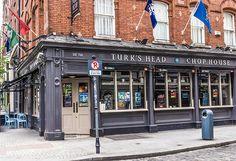 Turk's Head Dublin Pub - Established 1760 - July 2016 Dublin Pubs, Pub Design, British Pub, Pubs And Restaurants, Pub Crawl, Ireland Travel, Continents, Beverage, Places Ive Been