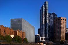 The Design Hub, corner Swanston and Victoria Streets Melbourne.