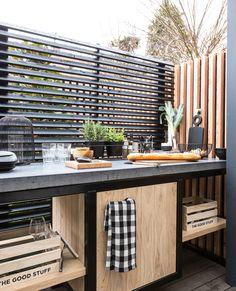 Outdoor Walls, Outdoor Spaces, Outdoor Living, Outdoor Furniture Sets, Outdoor Decor, Swimming Pools Backyard, Backyard Landscaping, Backyard Pavilion, Diy Outdoor Kitchen