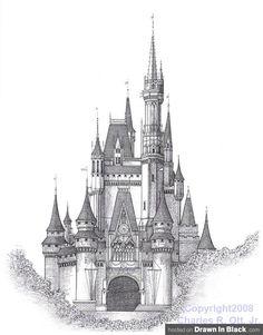 Google Image Result for http://www.drawninblack.com/wp-content/uploads/2010/01/Charles-Ott-Cinderella-Castle-Magic-Mountain-Walt-Disney-World-Resort-Lake-Buena-Vista-Orlando-FL.jpg