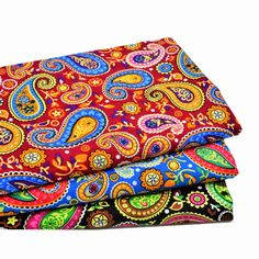 3pcs 50x70cm 2017 New Arrival Paisley Floral Cotton Fabric Meter Diy Handmade Fabrics For Patchwork Sewing Textiles Telas-in Fabric from Home & Garden on Aliexpress.com | Alibaba Group