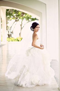 84c0df7d7e53 Love the tulle Bridal Outfits, Bridal Dresses, Wedding Gowns, Bali Wedding,  Wedding