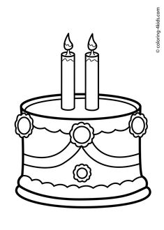 Birthday coloring pages for kids / Birthday Party Coloring Pages Farm Animal Coloring Pages, Coloring Sheets For Kids, Coloring Pages For Kids, Coloring Books, Kids Coloring, Food Coloring, Colorful Birthday Party, Colorful Party, Birthday Ideas