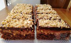 Ořechové šílenství s čokoládou | NejRecept.cz Krispie Treats, Rice Krispies, 20 Min, Nutella, Rolls, Cooking, Recipes, Roll Cakes, Food Items