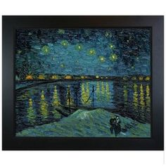 """My favorite painting. Love the story behind this version of """"Starry Night"""" as well as the painting itself. Still remember seeing the originals side by side as a child."""