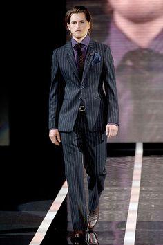 fall 2006  Emporio Armani Armani Men, Emporio Armani, Men's Style, Latest Trends, Suit Jacket, Mens Fashion, Suits, Formal, Coat
