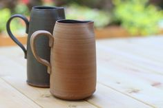 ceramic pitcher water pitcher ceramic water by FreshPottery