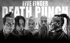 Five Finger Death Punch & Volbeat with special guests HELLYEAH & Nothing More Friday, Oct. 24 at 7 p.m. at Hardrock Las Vegas.
