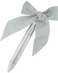 Lanvin Love bow-embellished pen on shopstyle.com #weddinggifts #bow #pretty #pen #bride #luxury #lanvin