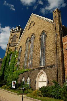 Abandoned Baptist Church - Racine, Wisconsin