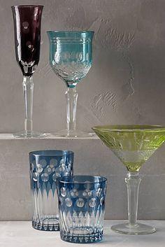 Pop Dot Glassware