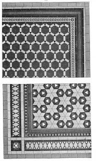 1880s tile patterns Handmade tiles can be colour coordinated and customized re. shape, texture, pattern, etc. by ceramic design studios
