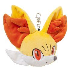 Pokemon Center Plush Doll Pass Case Fennekin Fynx Feunnec.shopper bag With gifts…
