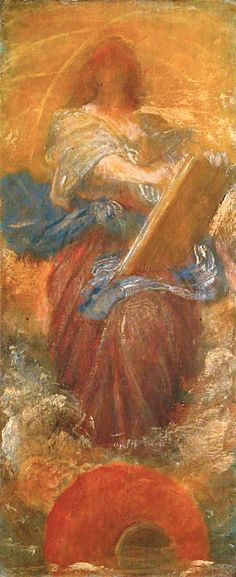 The Athenaeum - Recording Angel (George Frederic Watts)