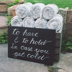 Cute idea for wedding favors