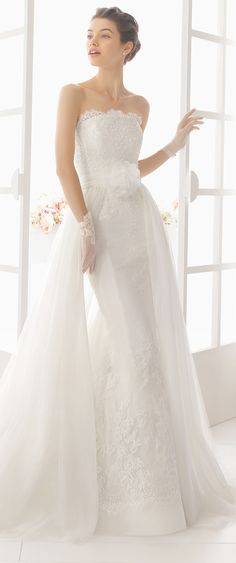 Aire Barcelona 2016 - Wedding Dresses with Detachable Skirts