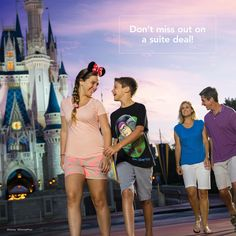 Enjoy a 4-night, 4-day suite and theme park ticket package valid for a stay in a suite at a select Walt Disney World Good Neighbor Hotel for less than $500 per day for a family of 4 (2 adults, 1 junior, 1 child age 3 to 9). That's a total package price starting at less than $2,000. #WaltDisneyWorld #suitedeal