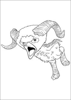 Croods Coloring pages for kids. Printable. Online Coloring. 17