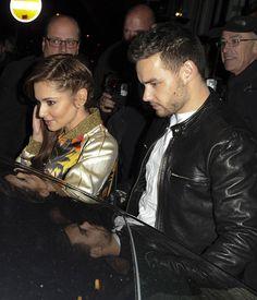 Cheryl Fernandez-Versini and Liam Payne enjoy date night at Sexy Fish restaurant in Mayfair, London on April 12, 2016
