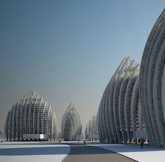 Putrajaya Waterfront Kuala Lumpur by Manfredi Nicoletti and Luca Nicoletti